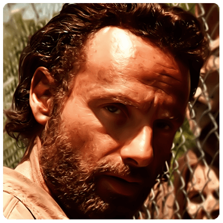 Walking Dead Rick
