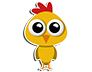 Cute Chicken Sticker