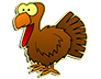 Free Turkey Sticker